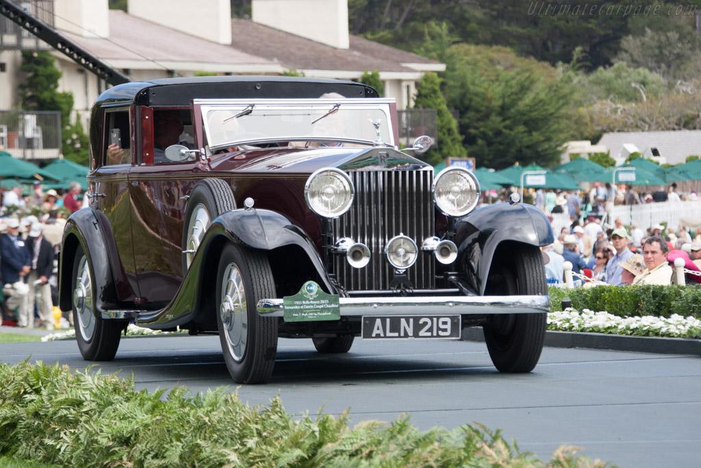 Rolls-Royce 20/25 Fernandez & Darrin Coupe Chauffeur  - Entrant: Peter T. Boyle  - 2014 Pebble Beach Concours d'Elegance