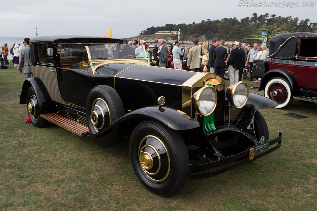 Rolls-Royce Phantom I Brewster Riviera Town Car  - Entrant: Quintessence  - 2014 Pebble Beach Concours d'Elegance