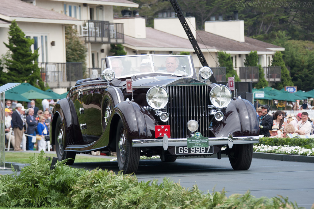 Rolls-Royce Phantom III Vanvooren Sports Cabriolet - Chassis: 3CM81 - Entrant: Anthony Lord Bamford  - 2014 Pebble Beach Concours d'Elegance