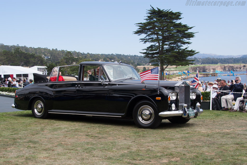 Rolls-Royce Phantom VI Mulliner Landaulet  - Entrant: Stephen F. Brauer  - 2014 Pebble Beach Concours d'Elegance