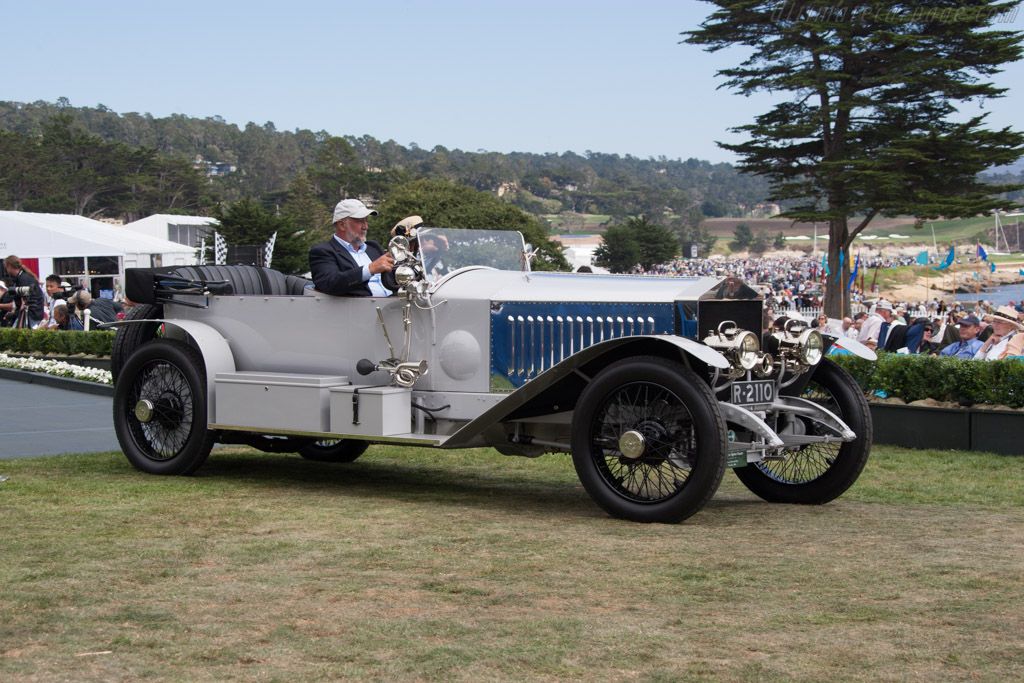 Rolls-Royce Silver Ghost Alpine Eagle Portholme Touring - Chassis: 18PB - Entrant: Steven & Susan Littin  - 2014 Pebble Beach Concours d'Elegance