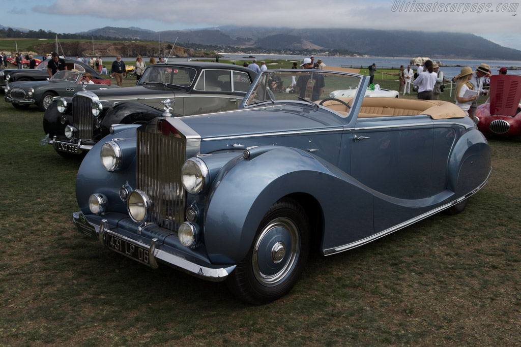 Rolls-Royce Silver Wraith Franay Convertible  - Entrant: Orin & Stephanie Smith  - 2014 Pebble Beach Concours d'Elegance