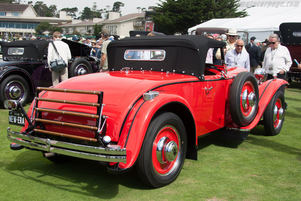Ruxton A Baker-Raulang Roaster - Chassis: 1003 - Entrant: Evelyn & Jim Fasnacht  - 2014 Pebble Beach Concours d'Elegance