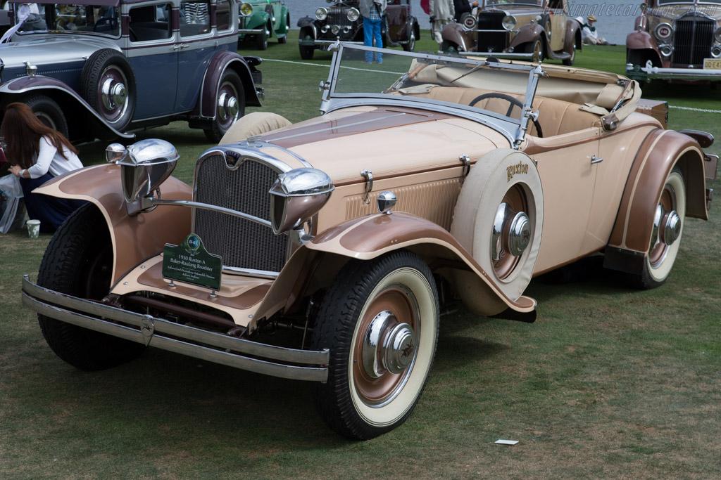 Ruxton A Baker-Raulang Roaster - Chassis: 1009 - Entrant: Auburn Cord Duesenberg Automobile Museum  - 2014 Pebble Beach Concours d'Elegance