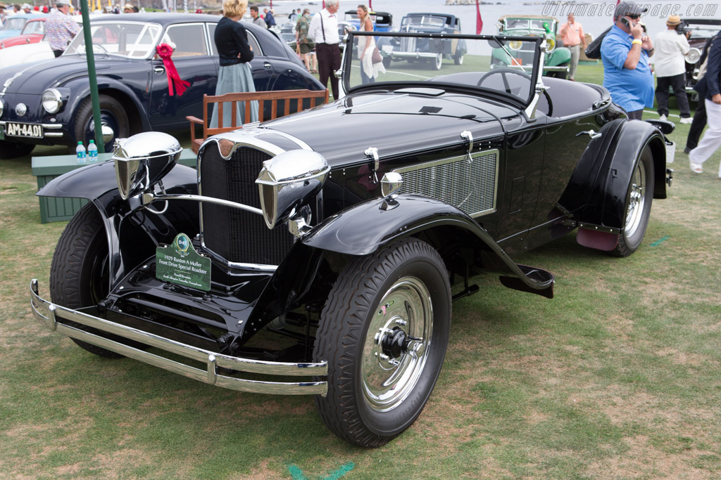 Ruxton A Special Roadster - Chassis: 1004 - Entrant: Donald Bernstein  - 2014 Pebble Beach Concours d'Elegance