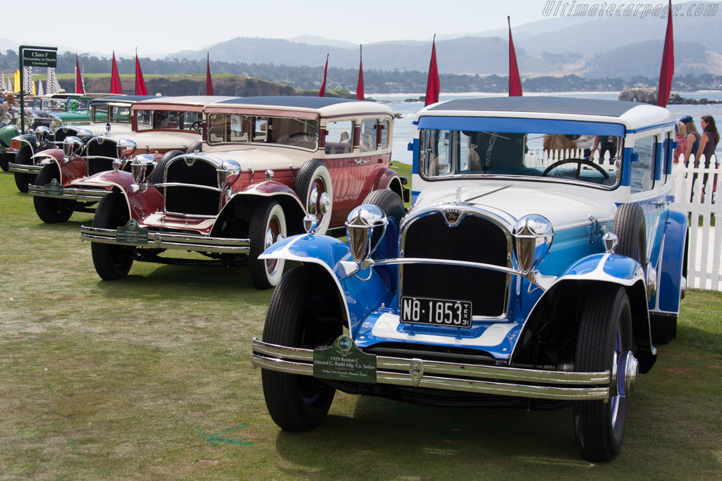 Ruxton C Budd Sedan - Chassis: 10C56 - Entrant: Evelyn & Jim Fasnacht  - 2014 Pebble Beach Concours d'Elegance