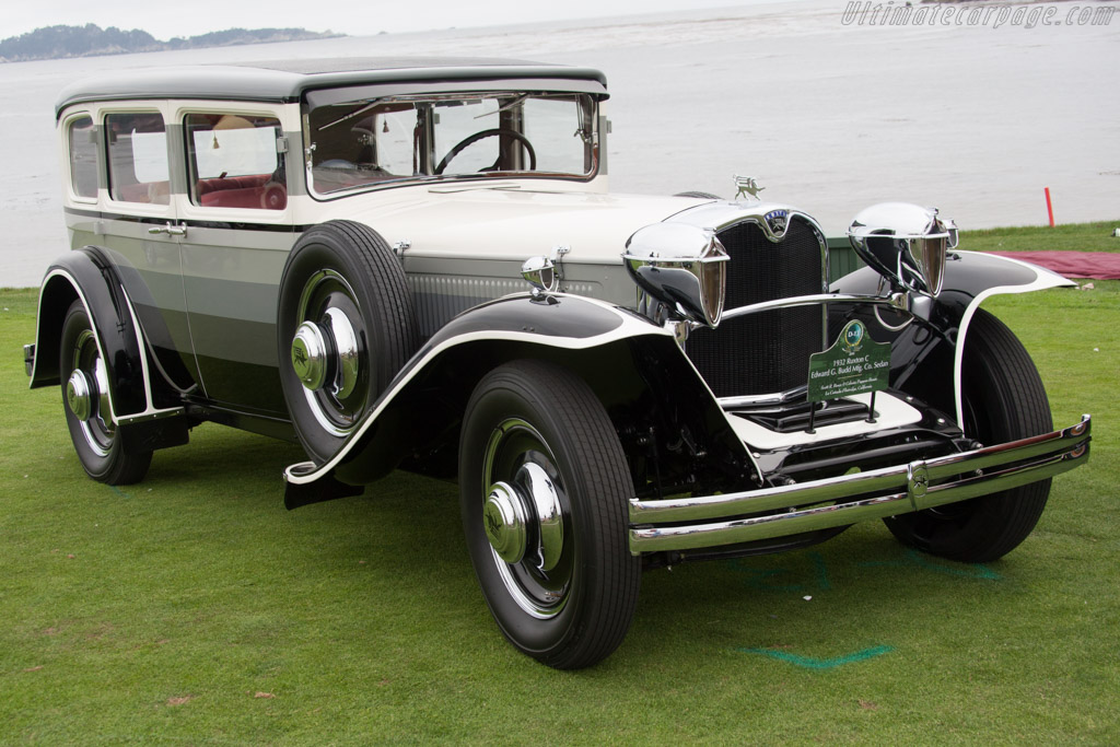 Ruxton C Budd Sedan - Chassis: 10C112 - Entrant: Scott R. Bos&#233s & Celesta Pappas-Bos&#233s  - 2014 Pebble Beach Concours d'Elegance