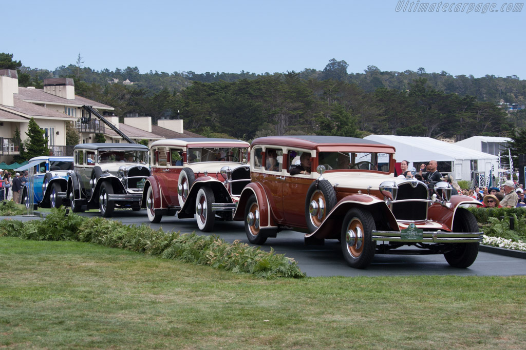 Ruxton C Budd Sedan - Chassis: 10C50 - Entrant: Tampa Bay Automobile Museum  - 2014 Pebble Beach Concours d'Elegance