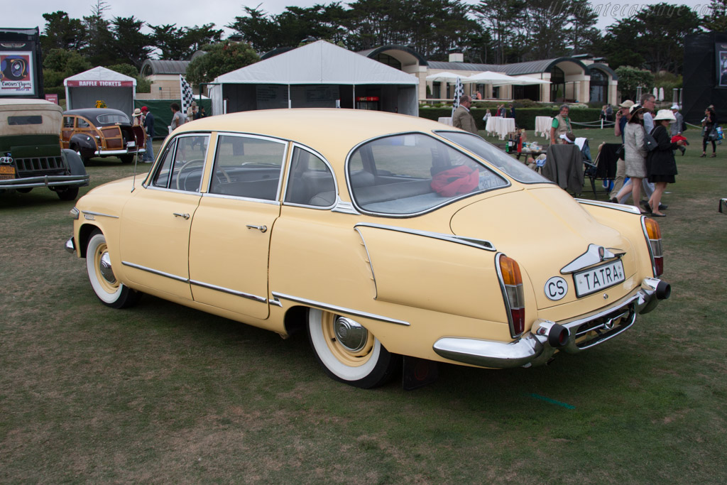 Tatra T603 Aerodynamic Sedan  - Entrant: Lane Motor Museum  - 2014 Pebble Beach Concours d'Elegance