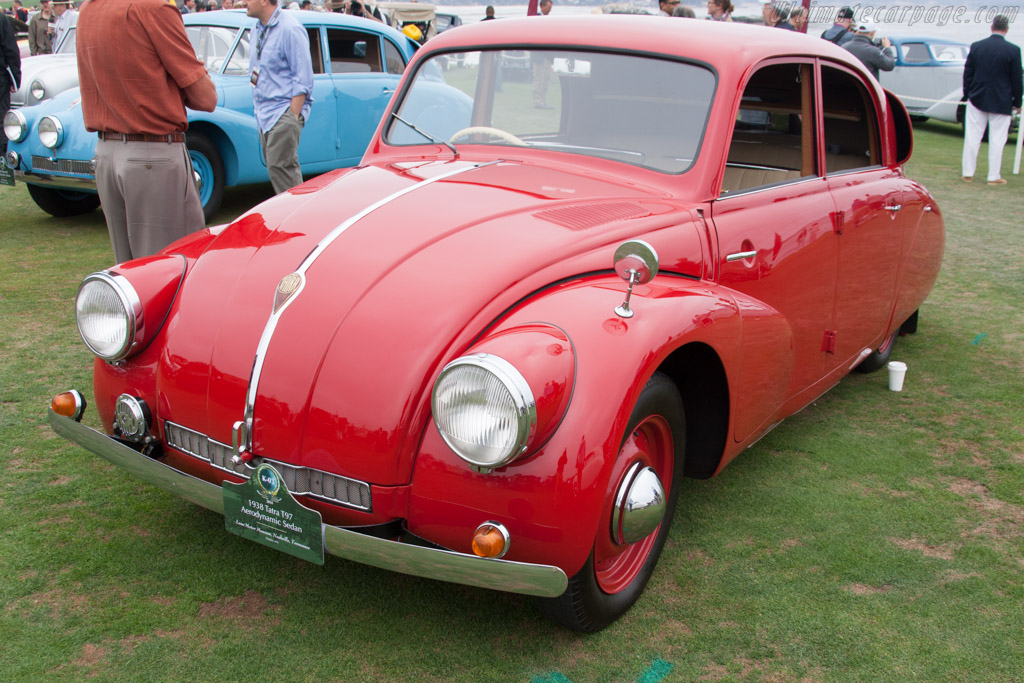 Tatra T97 Aerodynamic Sedan  - Entrant: Lane Motor Museum  - 2014 Pebble Beach Concours d'Elegance