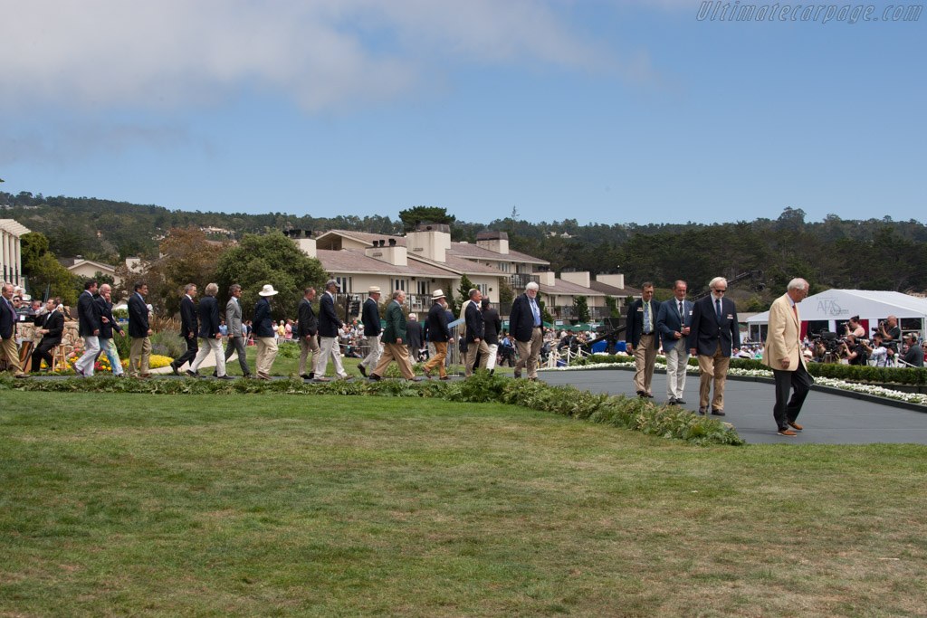 The Honorary Judges    - 2014 Pebble Beach Concours d'Elegance