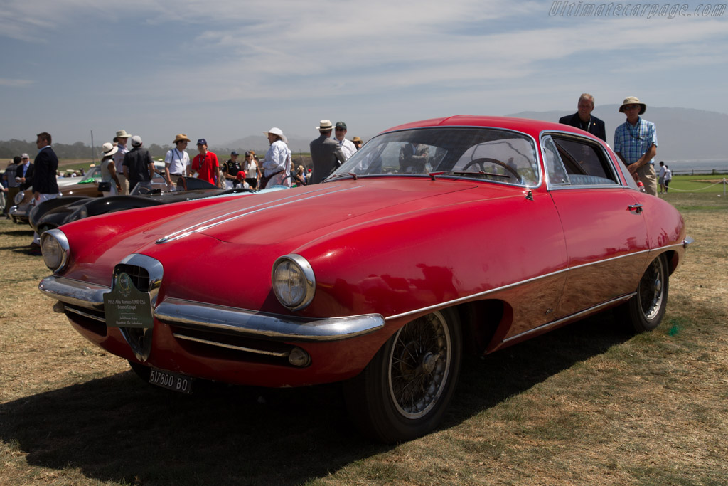 Alfa Romeo 1900 CSS Boano Coupe - Chassis: AR1900C 01846 - Entrant: Jack Braam Ruben  - 2015 Pebble Beach Concours d'Elegance