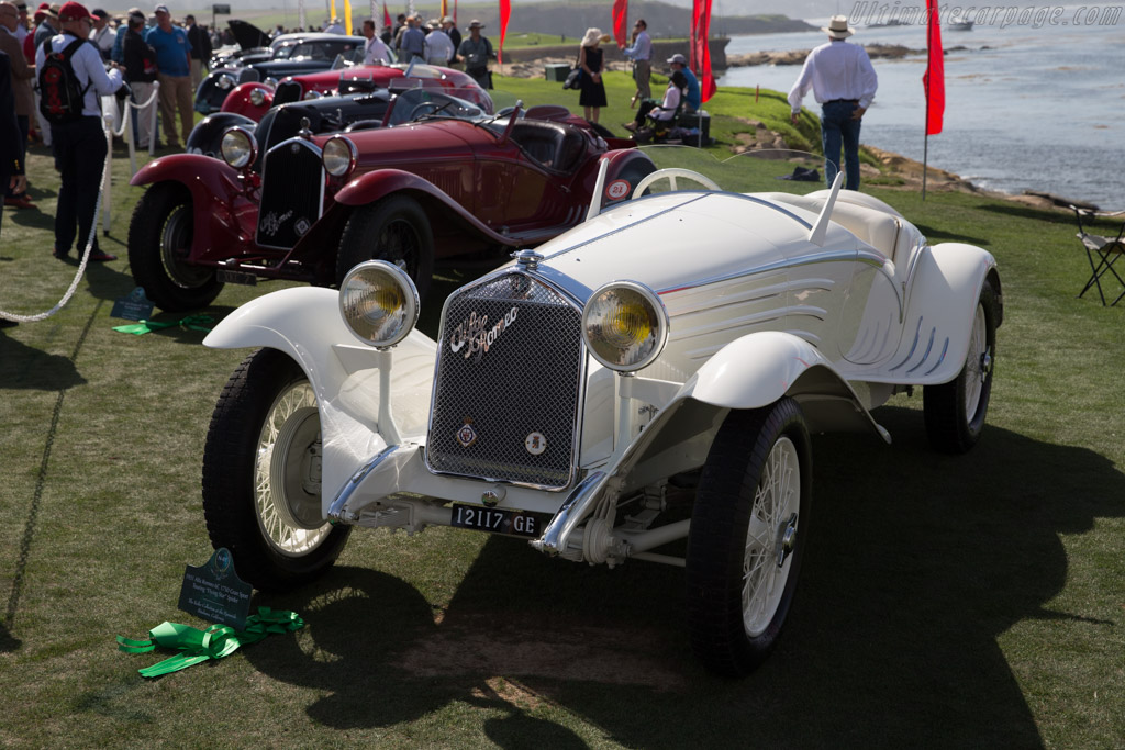 Alfa Romeo 6C 1750 GS Touring Flying Star - Chassis: 10814341 - Entrant: The Keller Collection at the Pyramids  - 2015 Pebble Beach Concours d'Elegance