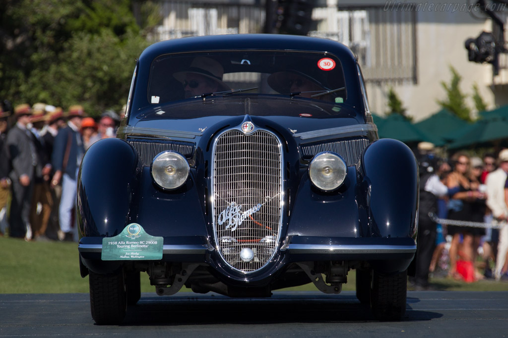 Alfa Romeo 8C 2900B Touring Berlinetta - Chassis: 412035 - Entrant: Jon Shirley  - 2015 Pebble Beach Concours d'Elegance