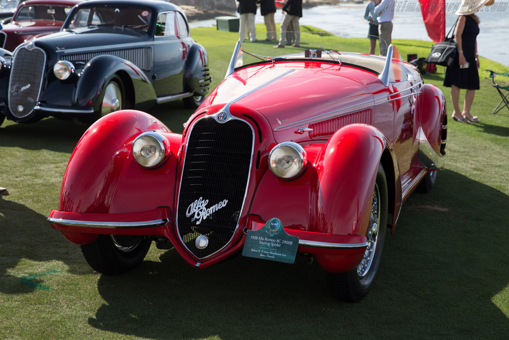 Alfa Romeo 8C 2900B Touring Spider - Chassis: 412026 - Entrant: Robert M. & Anne Brockington Lee  - 2015 Pebble Beach Concours d'Elegance