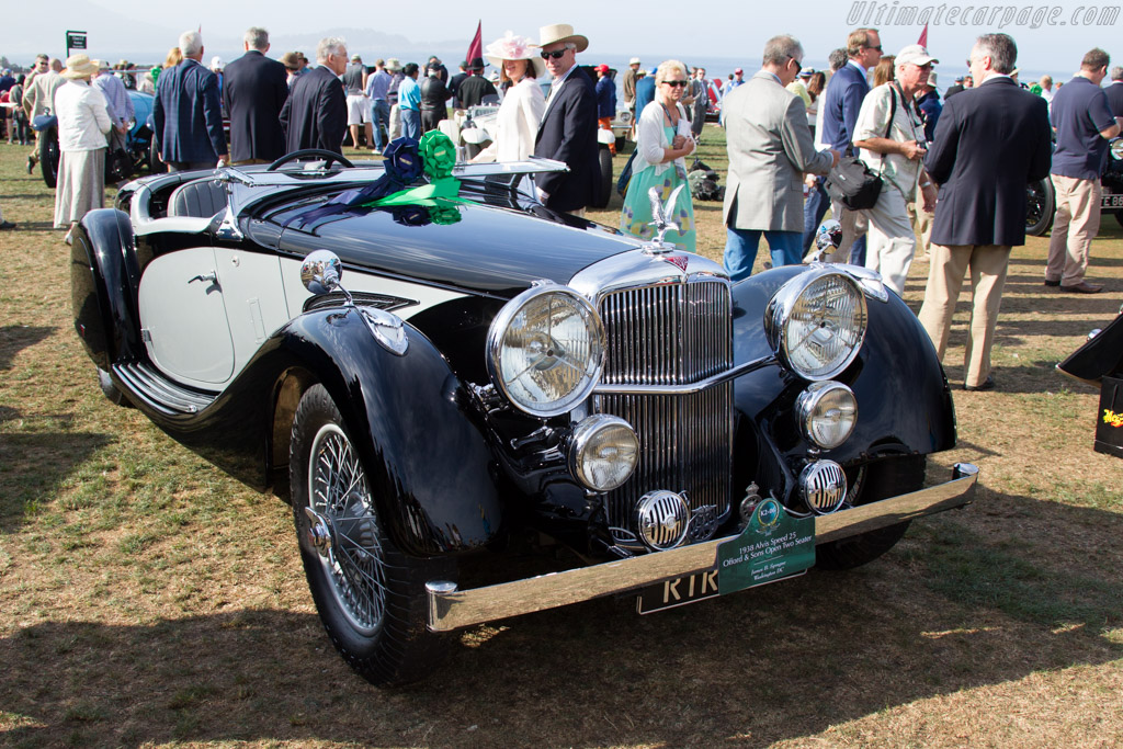 Alvis Speed 25 Offord Open Two Seater  - Entrant: James B. Sprague  - 2015 Pebble Beach Concours d'Elegance