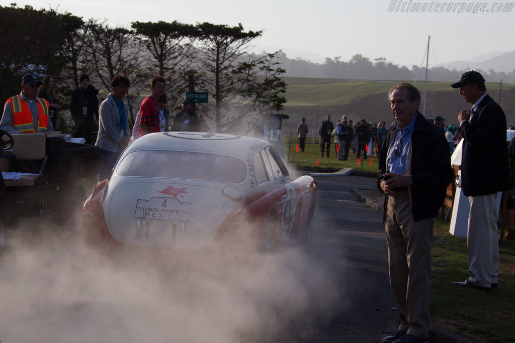 Arriving on the field    - 2015 Pebble Beach Concours d'Elegance
