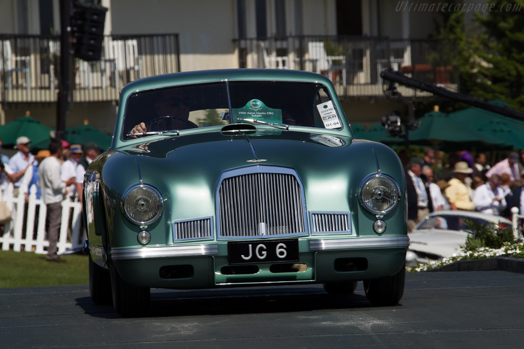 Aston Martin DB2 Saloon - Chassis: LML/50/16 - Entrant: John Grono  - 2015 Pebble Beach Concours d'Elegance