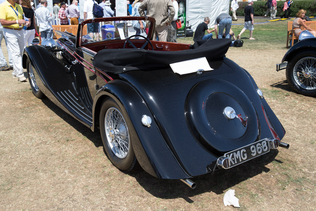 Atalanta Abbott Drophead Coupe  - Entrant: James & Sherry Raisbeck  - 2015 Pebble Beach Concours d'Elegance