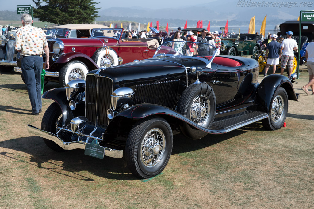 Auburn 8-100A Union City Speedster  - Entrant: Gerry Hockin  - 2015 Pebble Beach Concours d'Elegance