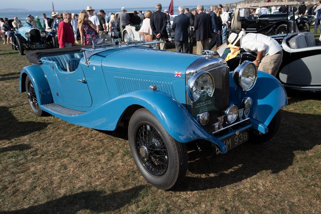 Bentley 3½ Litre Vanden Plas Tourer - Chassis: B-152-AH - Entrant: Bruce R. McCaw  - 2015 Pebble Beach Concours d'Elegance