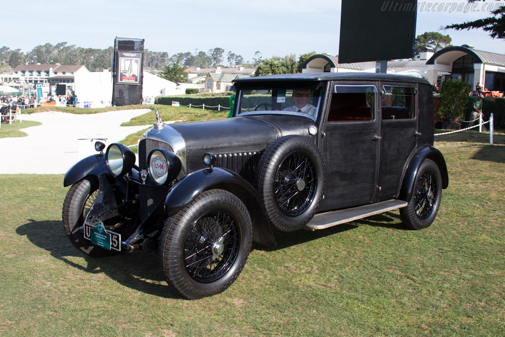 Bentley 4½ Litre Maythorn Saloon - Chassis: XF3520 - Entrant: Gregor Fisken  - 2015 Pebble Beach Concours d'Elegance