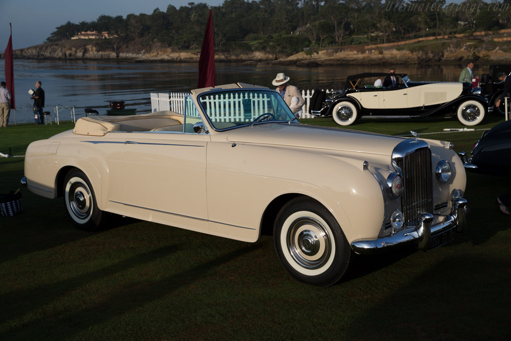 Bentley S1 Mulliner Drophead Coupe  - Entrant: Fred & Donna Kriz  - 2015 Pebble Beach Concours d'Elegance