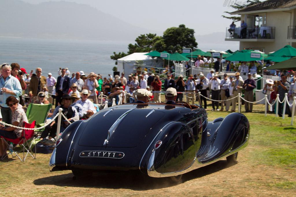 Bugatti Type 57C Vanvooren Cabriolet - Chassis: 57808 - Entrant: Margie & Robert E. Petersen Collection  - 2015 Pebble Beach Concours d'Elegance