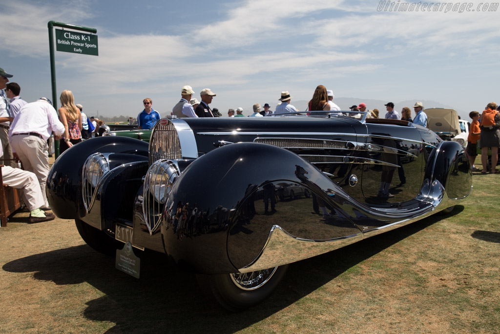Bugatti Type 57C Vanvooren Cabriolet - Chassis: 57808 - Entrant: Margie & Robert E. Petersen Collection  - 2015 Pebble Beach Concours d'Elegance