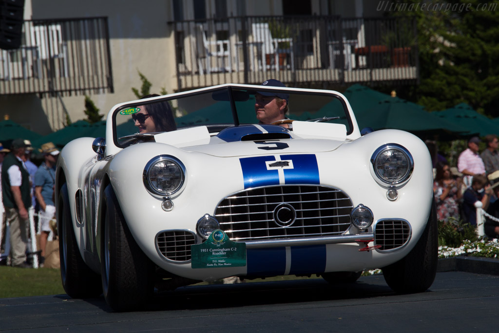 Cunningham C-2 Roadster - Chassis: 5102 - Entrant: Tom Mittler  - 2015 Pebble Beach Concours d'Elegance