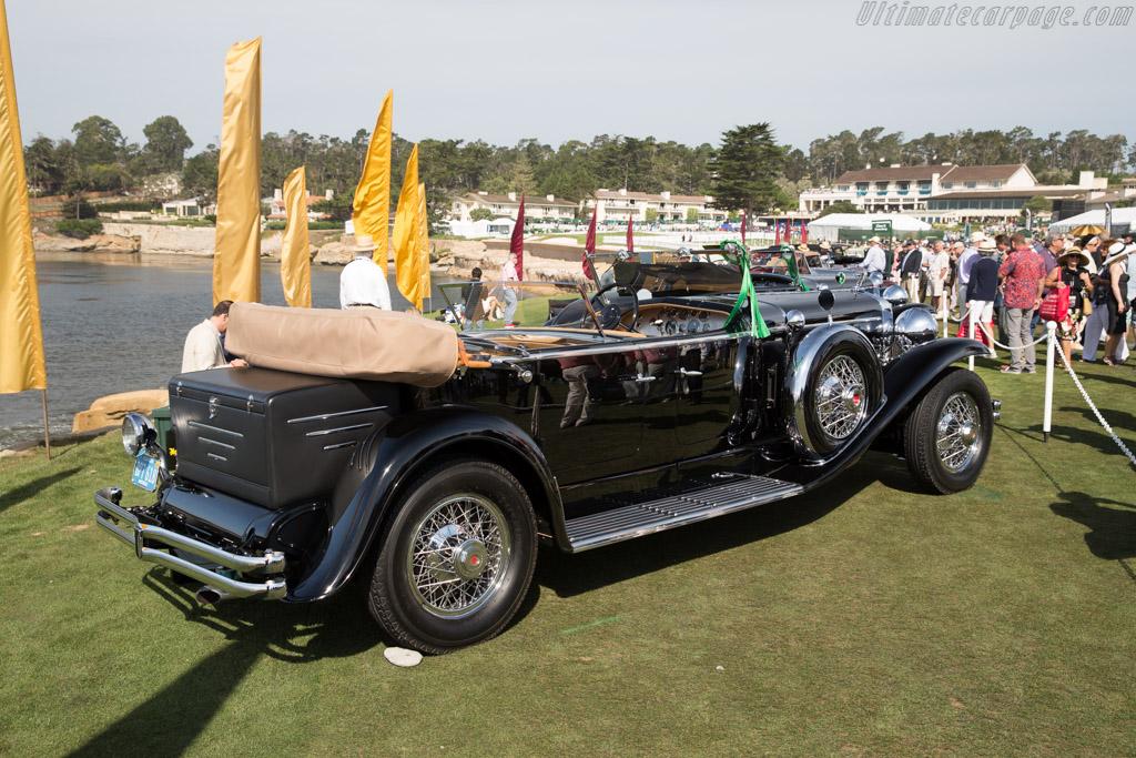 Duesenberg J Derham Tourster - Chassis: 2456 J-444 - Entrant: Lee R. Anderson Sr.  - 2015 Pebble Beach Concours d'Elegance
