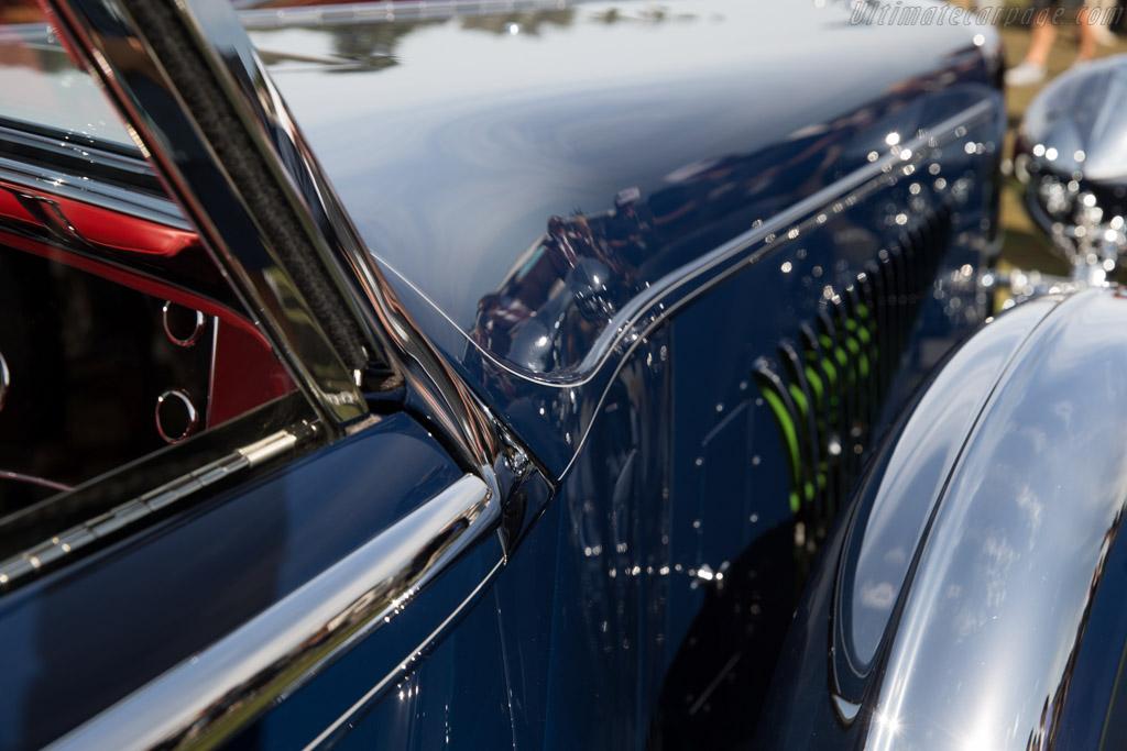 Duesenberg J Walker LaGrande Convertible Coupe - Chassis: 2560 J-534 - Entrant: General William Lyon  - 2015 Pebble Beach Concours d'Elegance