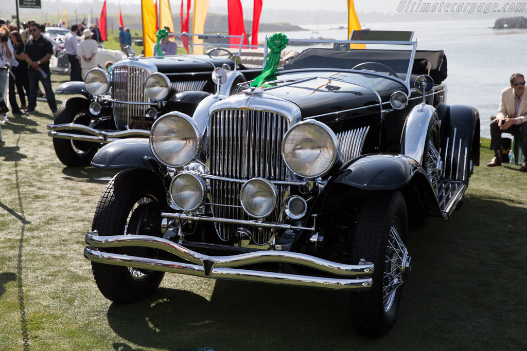 Duesenberg J Walker LaGrande Convertible Coupe - Chassis: 2568 J-531 - Entrant: Harry Yeaggy  - 2015 Pebble Beach Concours d'Elegance