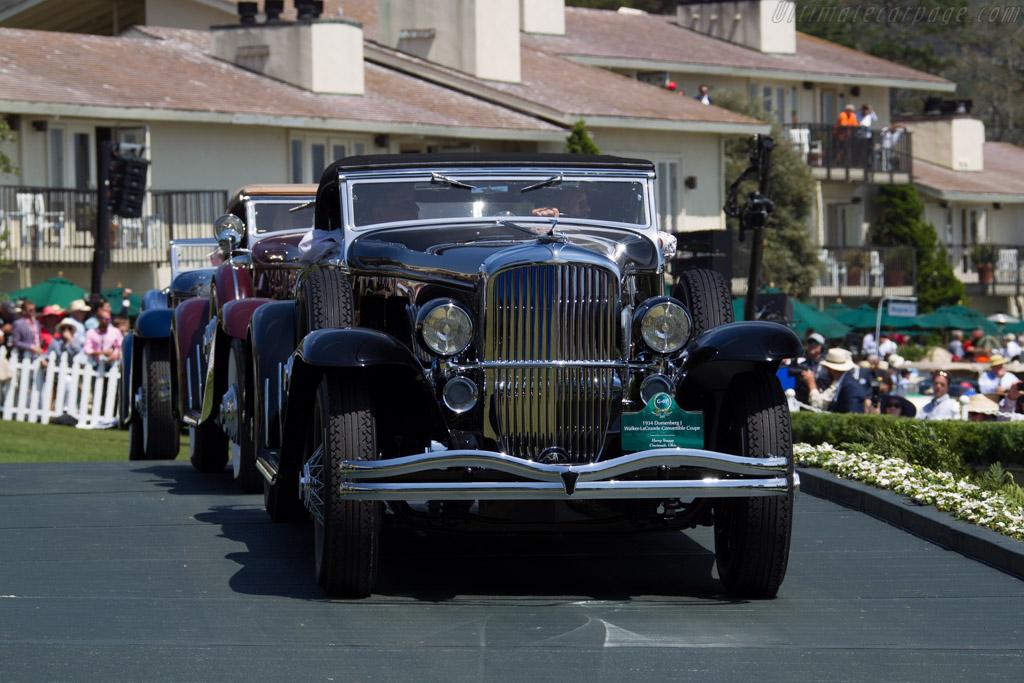 Duesenberg J Walker LaGrande Convertible Coupe - Chassis: 2568 J-531 - Entrant: Harry Yeaggy  - 2015 Pebble Beach Concours d'Elegance