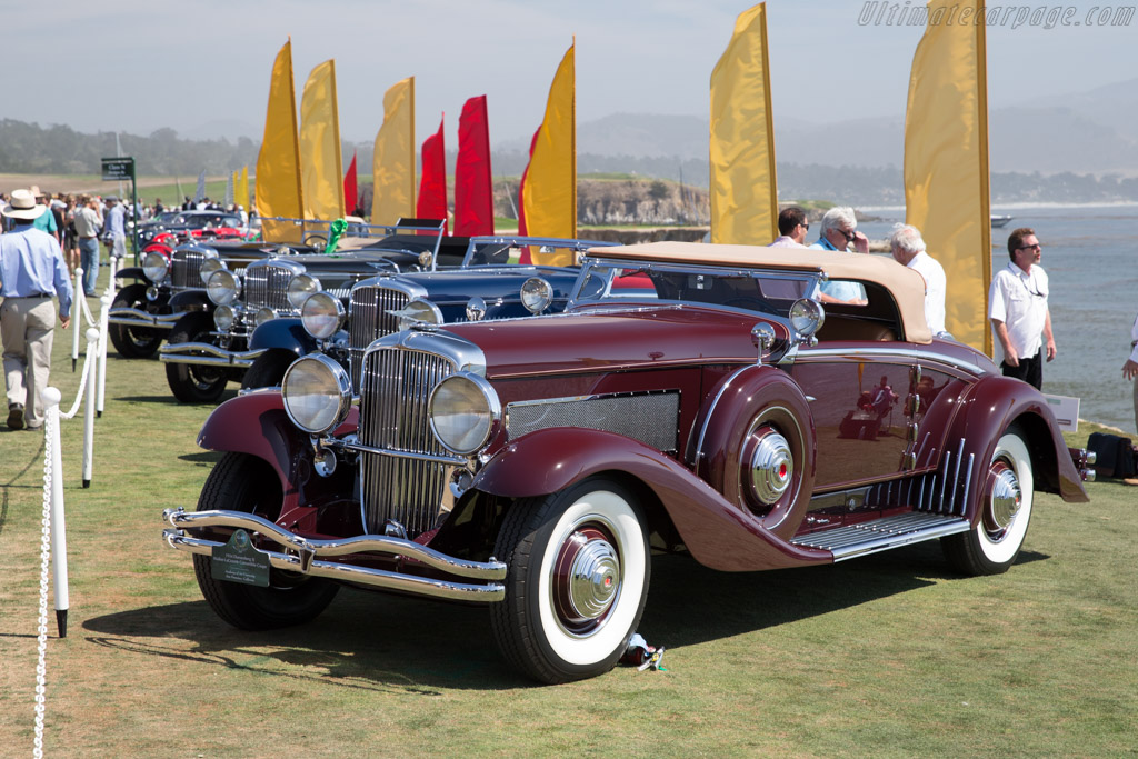 Duesenberg SJ Walker LaGrande Convertible Coupe - Chassis: 2563 J-530 - Entrant: Academy of Art University  - 2015 Pebble Beach Concours d'Elegance