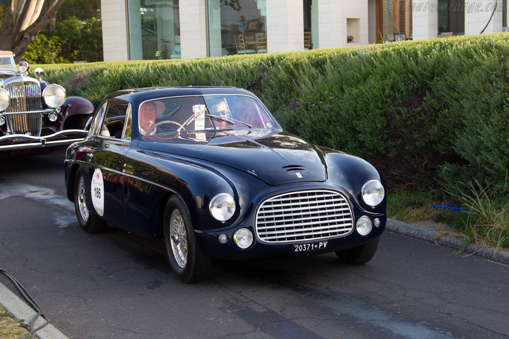 Ferrari 166 Inter Touring Berlinetta - Chassis: 0047S - Entrant: Peter M. & Marshia Carlino  - 2015 Pebble Beach Concours d'Elegance