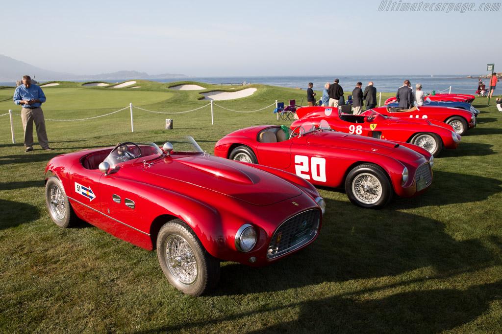 Ferrari 166 MM/53 Vignale Spyder - Chassis: 0342M - Entrant: Phil & Martha Bachman  - 2015 Pebble Beach Concours d'Elegance