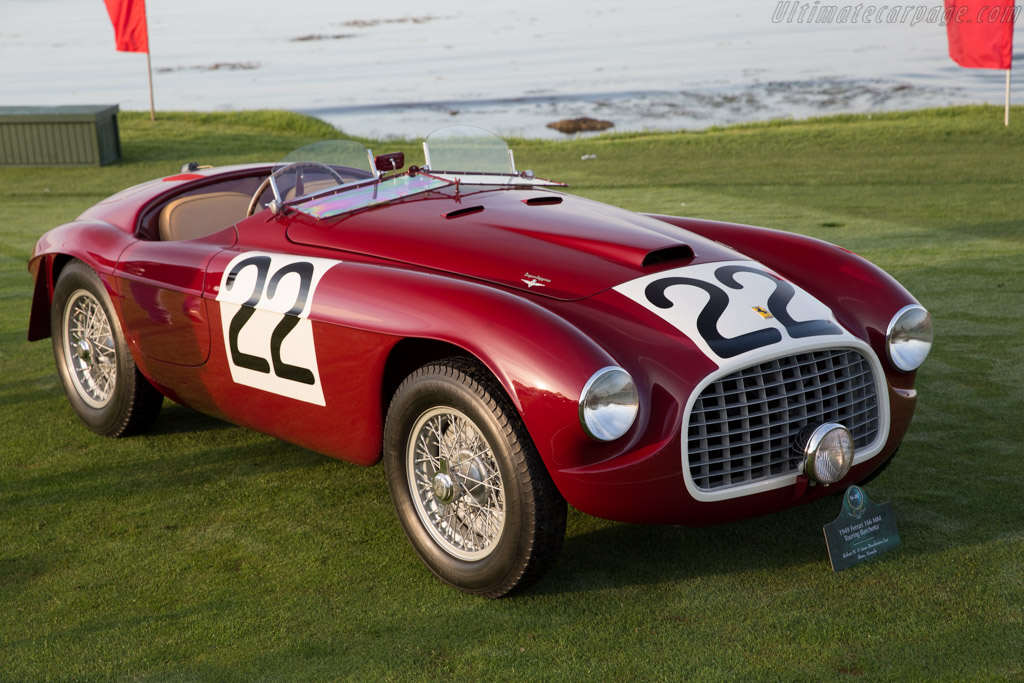 Ferrari 166 MM Touring Barchetta - Chassis: 0008M - Entrant: Robert M. & Anne Brockington Lee  - 2015 Pebble Beach Concours d'Elegance