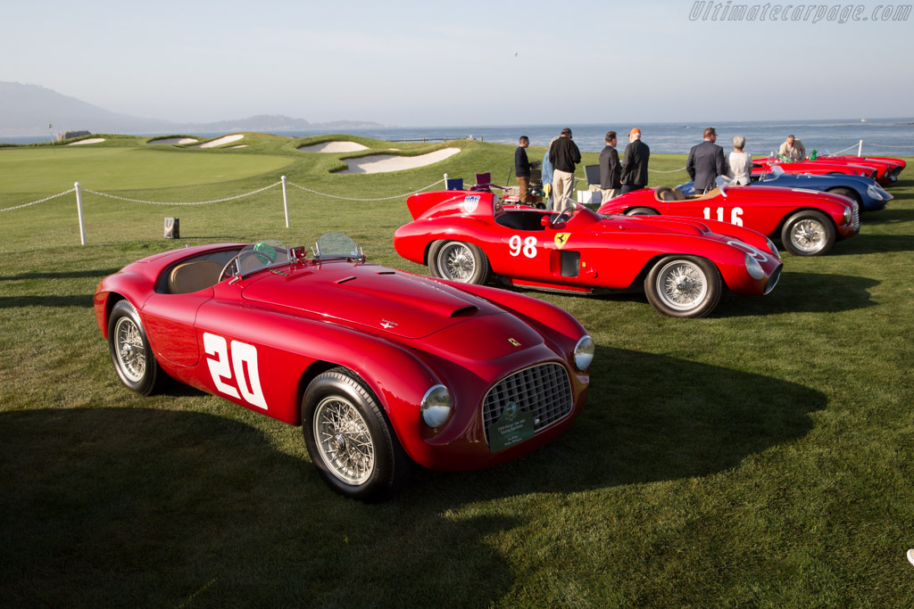 Ferrari 166 MM Touring Barchetta - Chassis: 0010M - Entrant: Jon Shirley  - 2015 Pebble Beach Concours d'Elegance