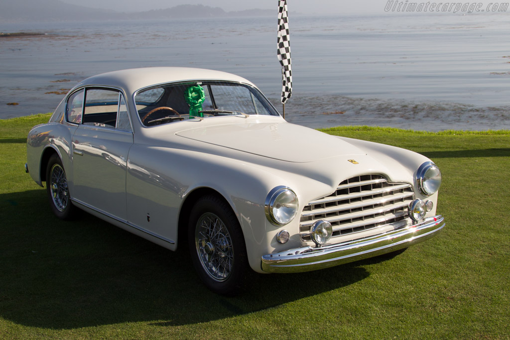 Ferrari 195 Inter Ghia Coupe - Chassis: 0101S - Entrant: Renaat Declerck  - 2015 Pebble Beach Concours d'Elegance