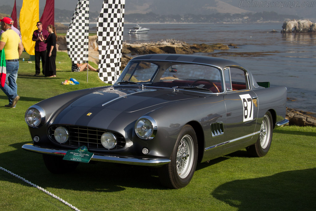 Ferrari 250 GT Boano Alloy Coupe - Chassis: 0529GT - Entrant: James H. Fuchs  - 2015 Pebble Beach Concours d'Elegance