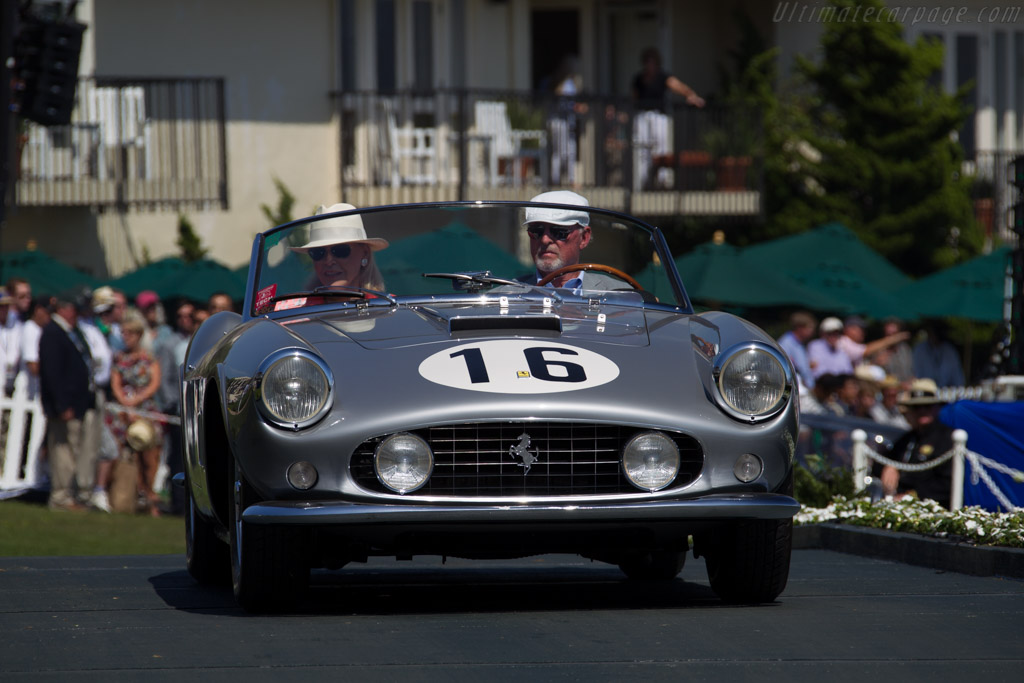 Ferrari 250 GT LWB California Spider Competizione - Chassis: 1451GT - Entrant: Audrey & Martin Gruss  - 2015 Pebble Beach Concours d'Elegance