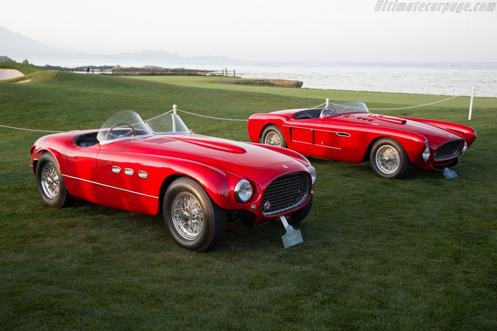 Ferrari 340 MM Vignale Sptder - Chassis: 0350AM - Entrant: Les Wexner  - 2015 Pebble Beach Concours d'Elegance