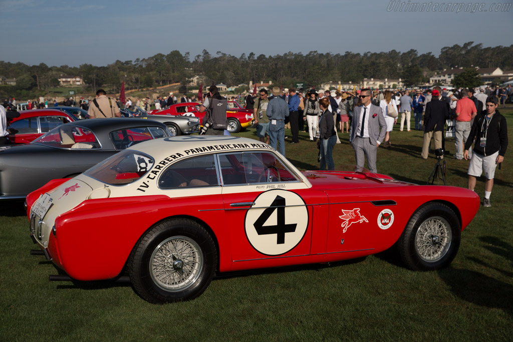 Ferrari 340 Mexico Vignale Coupe - Chassis: 0222AT - Entrant: The Keller Collection at the Pyramids  - 2015 Pebble Beach Concours d'Elegance