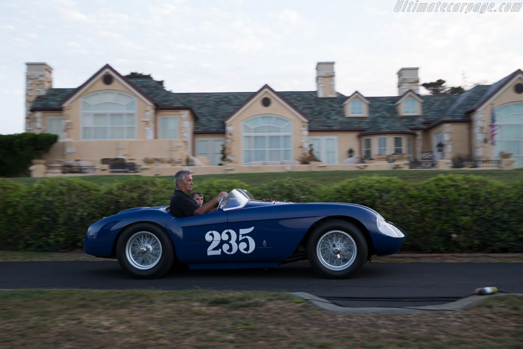 Ferrari 500 Mondial Pinin Farina Spyder - Chassis: 0438MD - Entrant: Thomas R. Peck  - 2015 Pebble Beach Concours d'Elegance