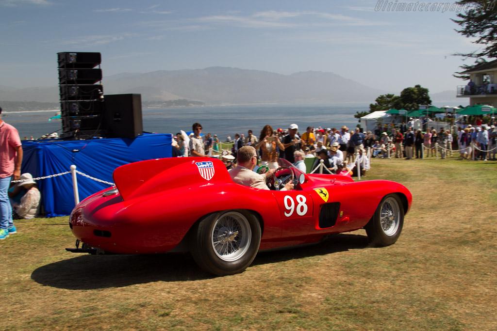 Ferrari 857 S - Chassis: 0588M - Entrant: Les Wexner  - 2015 Pebble Beach Concours d'Elegance
