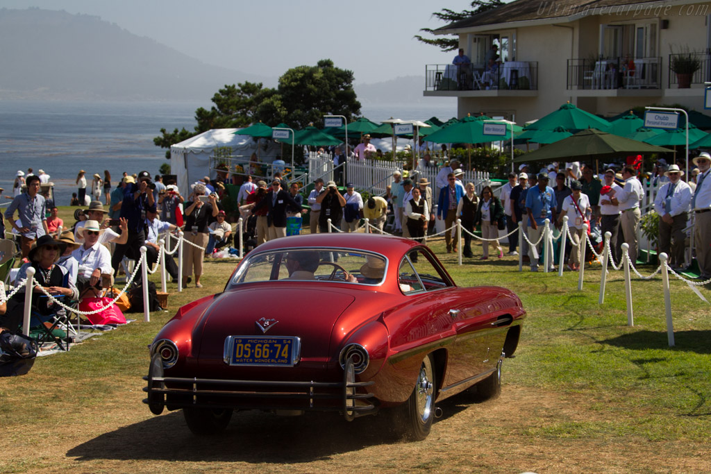 Fiat 8V Supersonic Ghia Coupe - Chassis: 106*000040 - Entrant: Marc Behaegel  - 2015 Pebble Beach Concours d'Elegance
