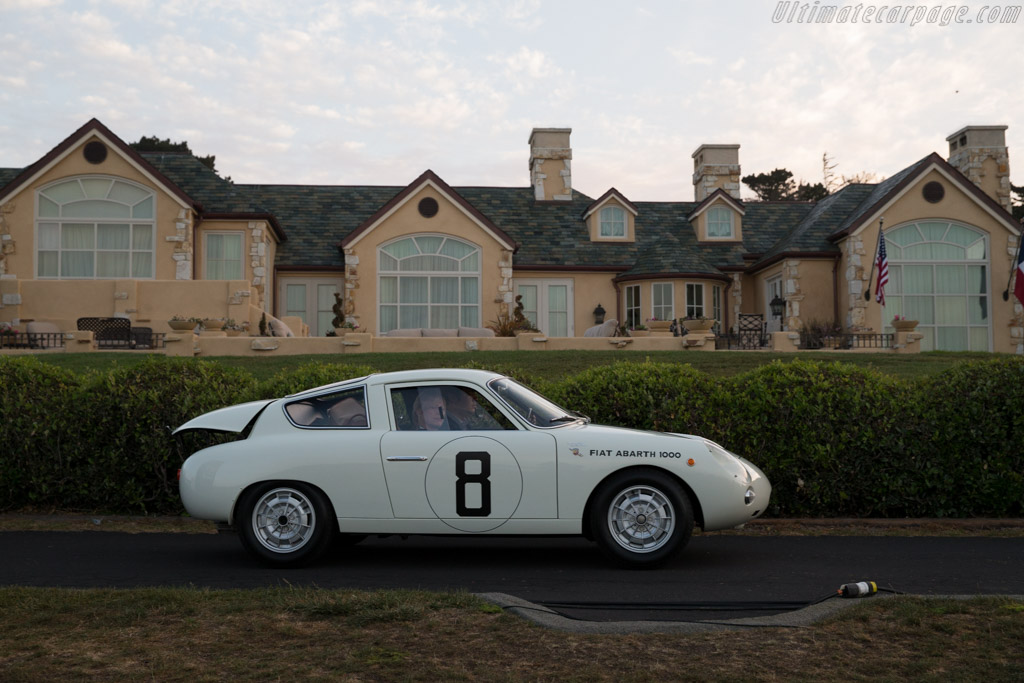 Fiat Abarth 1000 Bialbero  - Entrant: Jeff & David Brynan  - 2015 Pebble Beach Concours d'Elegance
