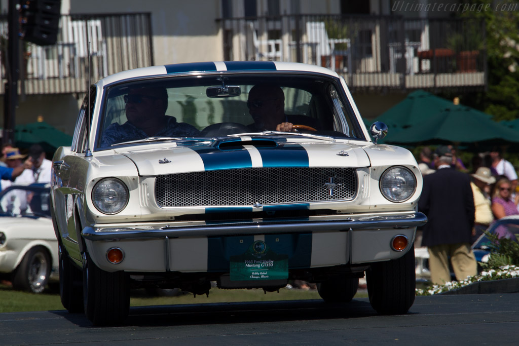 Ford Shelby Mustang GT350 - Chassis: SFM5S558 - Entrant: Bobby Rahal  - 2015 Pebble Beach Concours d'Elegance