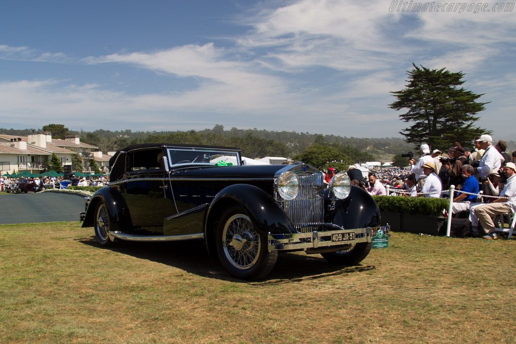 Isotta Fraschini Tipo 8A Worblaufen Cabriolet - Chassis: 605 - Entrant: Jim Patterson / The Patterson Collection  - 2015 Pebble Beach Concours d'Elegance